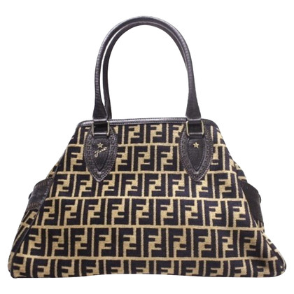 Fendi Shopper with Zucca pattern