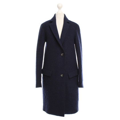 Cinque Coat in dark blue