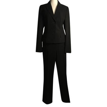Strenesse Pantalon de costume noir