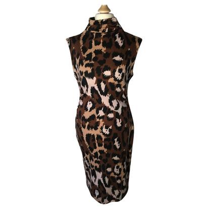 Diane von Furstenberg Kleid mit Animalprint