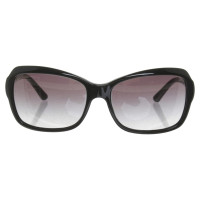 Bulgari Sonnenbrille in Schwarz