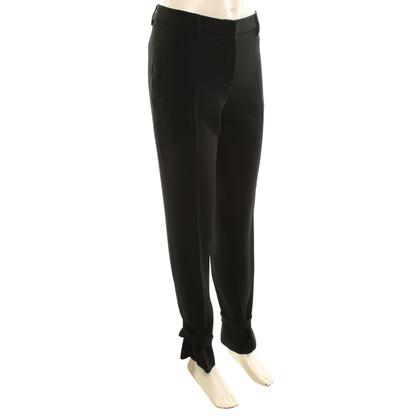 Miu Miu Flowing trousers in black