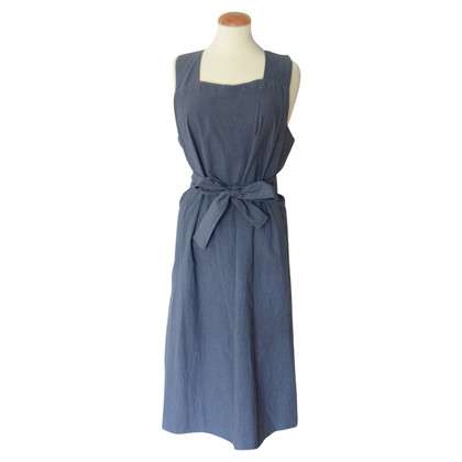 Isabel Marant Etoile blue midi dress with belt