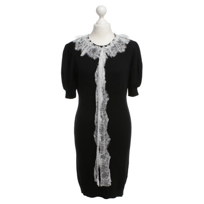Moschino Love Knit dress with lace
