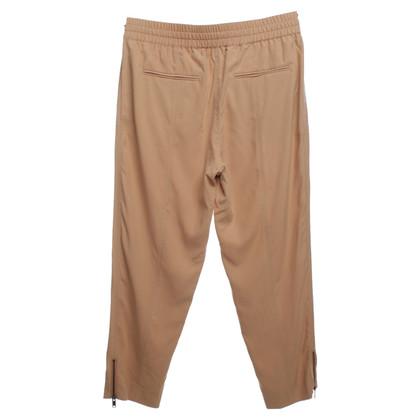DKNY Zijden broek in beige