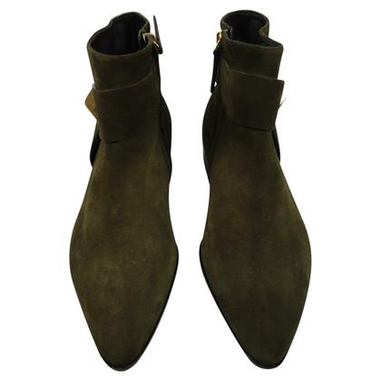 Giuseppe Zanotti stivali di camoscio