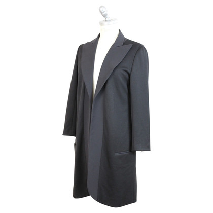Yohji Yamamoto Cappotto Blazer in nero