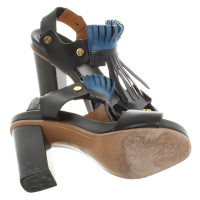 Chloé Sandals with leather fringes