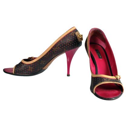 Louis Vuitton monogramma peep dita dei piedi
