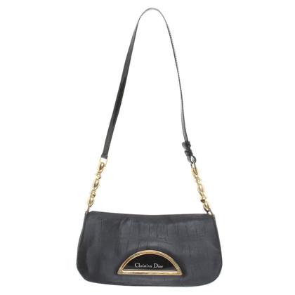 Christian Dior Kleine Tas in zwart