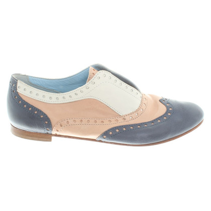 Pollini Slipper with Lyra perforation