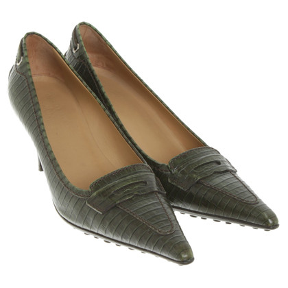 Car Shoe pumps in groen