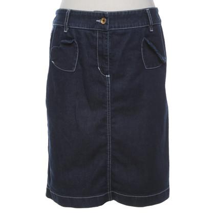 Moschino Love Denim skirt in blue