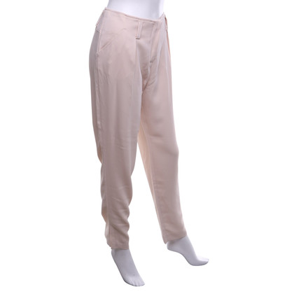 René Lezard trousers in pink