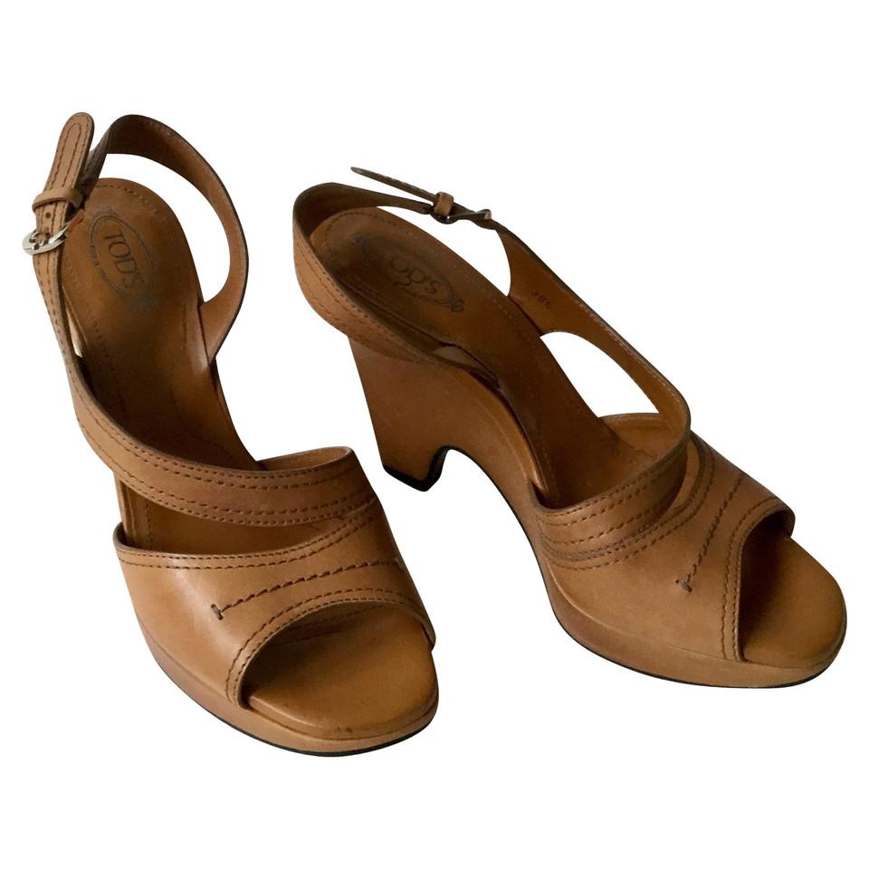 Tod's Sandales en marron