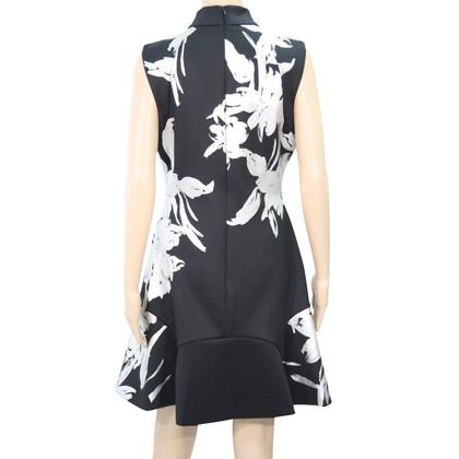 Karen Millen Vestito floreale in nero