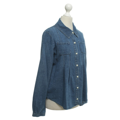 Marc Jacobs Jeansbluse in Blau