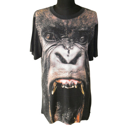 Christopher Kane Shirt with Gorilla theme