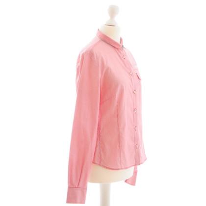 Fay Camicia camicetta striscia rosso/bianco Gr.M