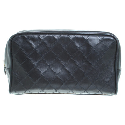 Chanel Vintage Leather cosmetic bag
