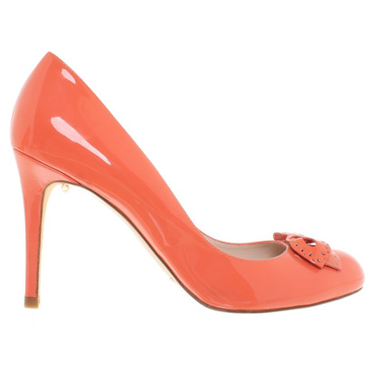 L.K. Bennett pumps en orange