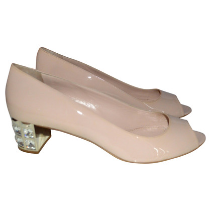 Miu Miu Peep-dita dei piedi