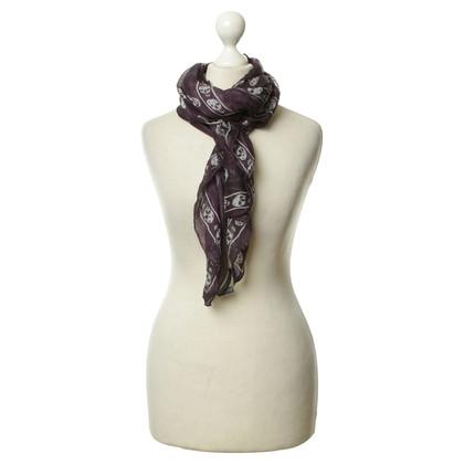 Alexander McQueen Zijden sjaal in paars