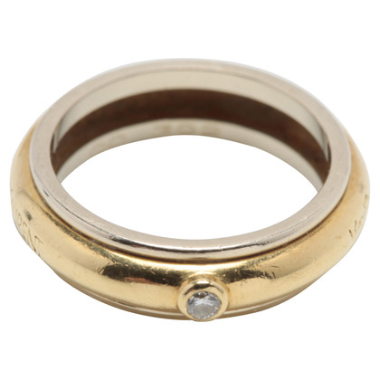 Yves Saint Laurent Ring in geel goud