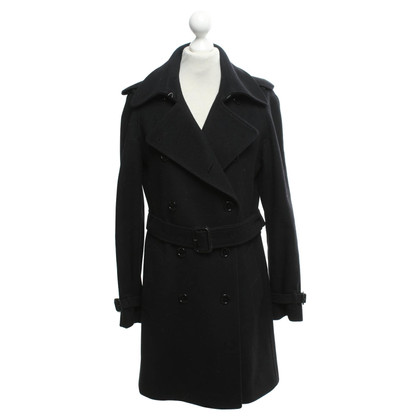 Burberry Coat in dark blue