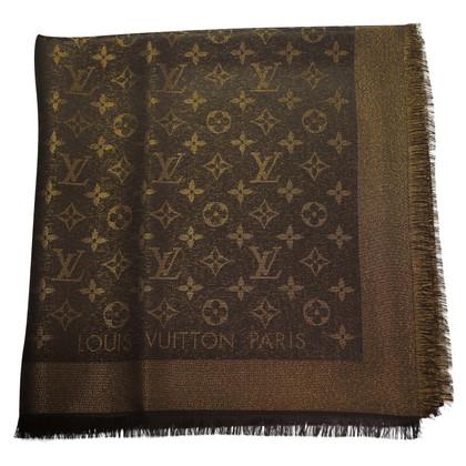 Louis Vuitton Louis Vuitton Monogram Shine Scarf