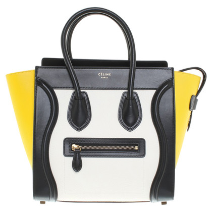 "Céline ""Bagage Bag"" in Tricolor"