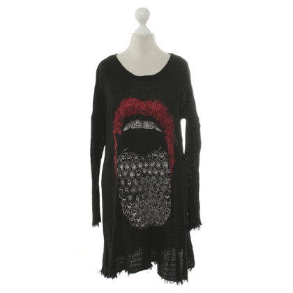 Lauren Moshi Sweater with Rhinestone motif