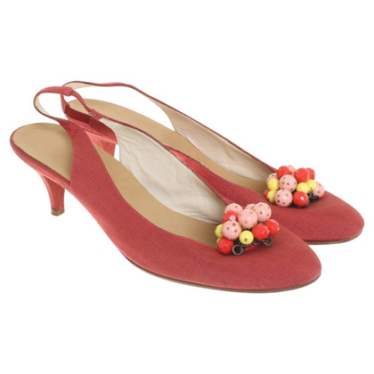 Marc Jacobs Slingbacks in het rood