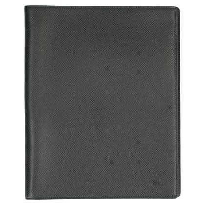 """Louis Vuitton """"Couverture Bloc Taiga Leather"""""""