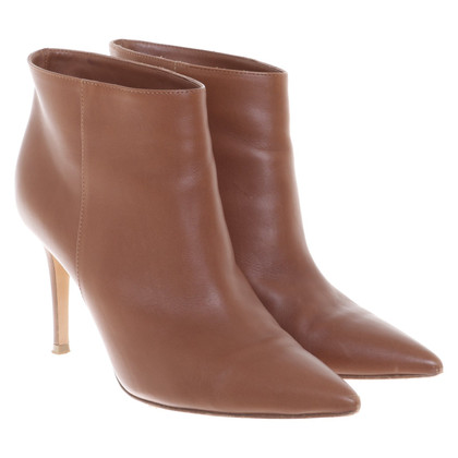 Gianvito Rossi Bottines en marron