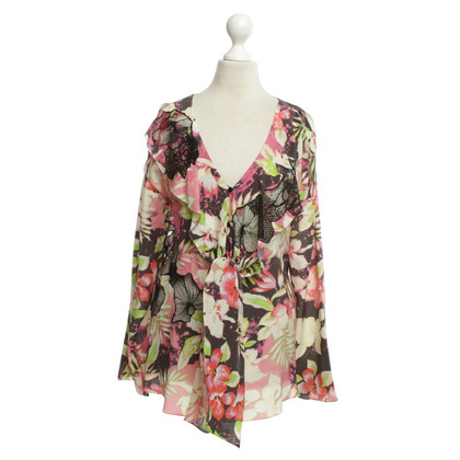 Vanessa Bruno Silk blouse with floral motif