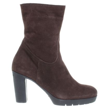 Baldinini Suede boots in Brown