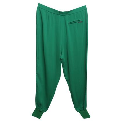 Twin-Set Simona Barbieri trousers in green
