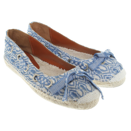 Missoni Espadrilles with crochet lace