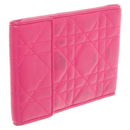 Christian Dior Paspoorthouder in roze