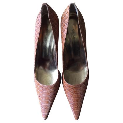 Dolce & Gabbana High Heels aus Schlangenleder
