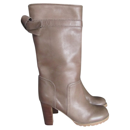 See by Chloé Bottes coloris taupe