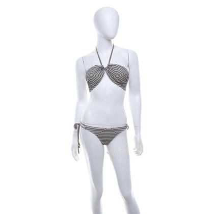 Mitos  Bikini avec motif à rayures