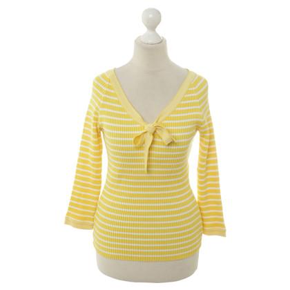René Lezard Truien in geel en wit