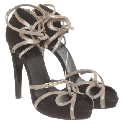 Hermès Sandals in black