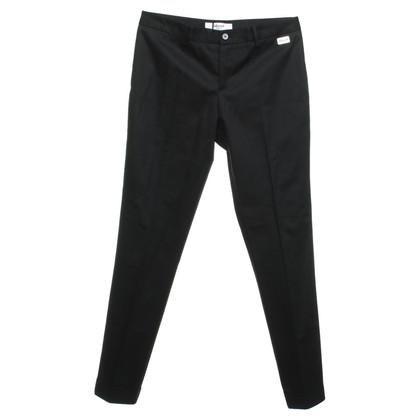 Blumarine Creased trousers in black