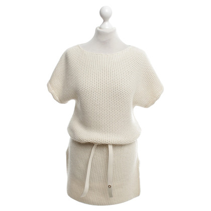 Hermès Knit dress in cream