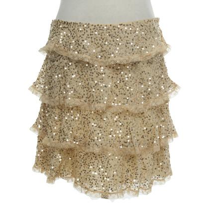 Blumarine skirt in layered look