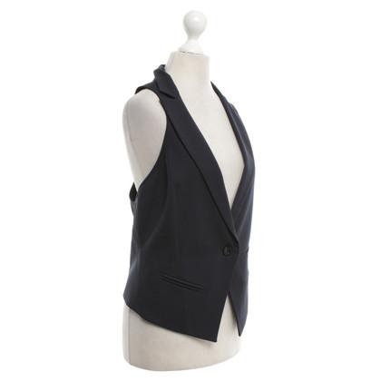 Patrizia Pepe Vest in donkerblauw