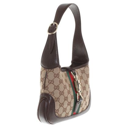 Gucci Handtas met Guccissima patroon